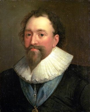 William Herbert, by Daniel Mytens, oil on canvas, 1625