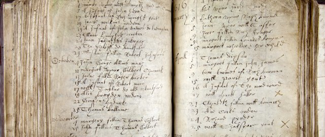 Burial Record for William Shakespeare
