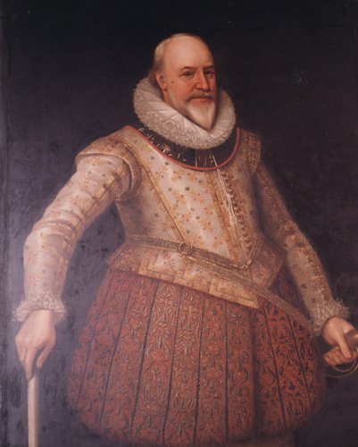 Portrait of Sir George Carew (1555-1629), English School.