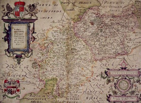 Christopher Saxon's Map
