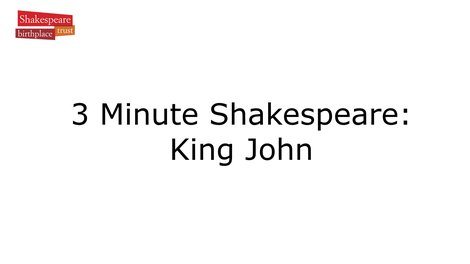 Video Summary: King John