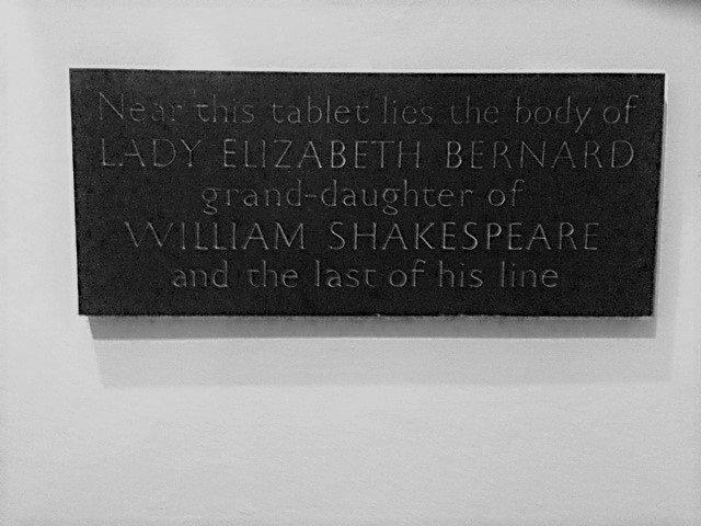 Plaque to Elizabeth Barnard (1981)