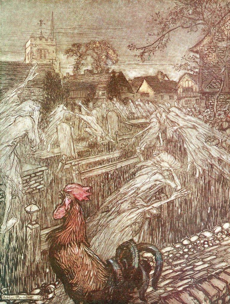 Rackham A Midsummer Night's Dream