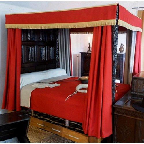 Oak Tester Bed