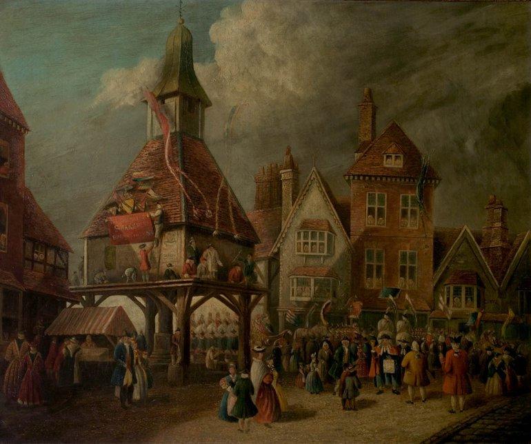 Painting of Garrick Jubilee