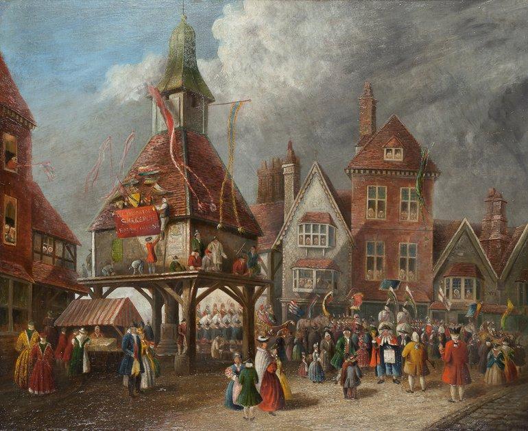 Market Cross Garrick Jubilee 1769