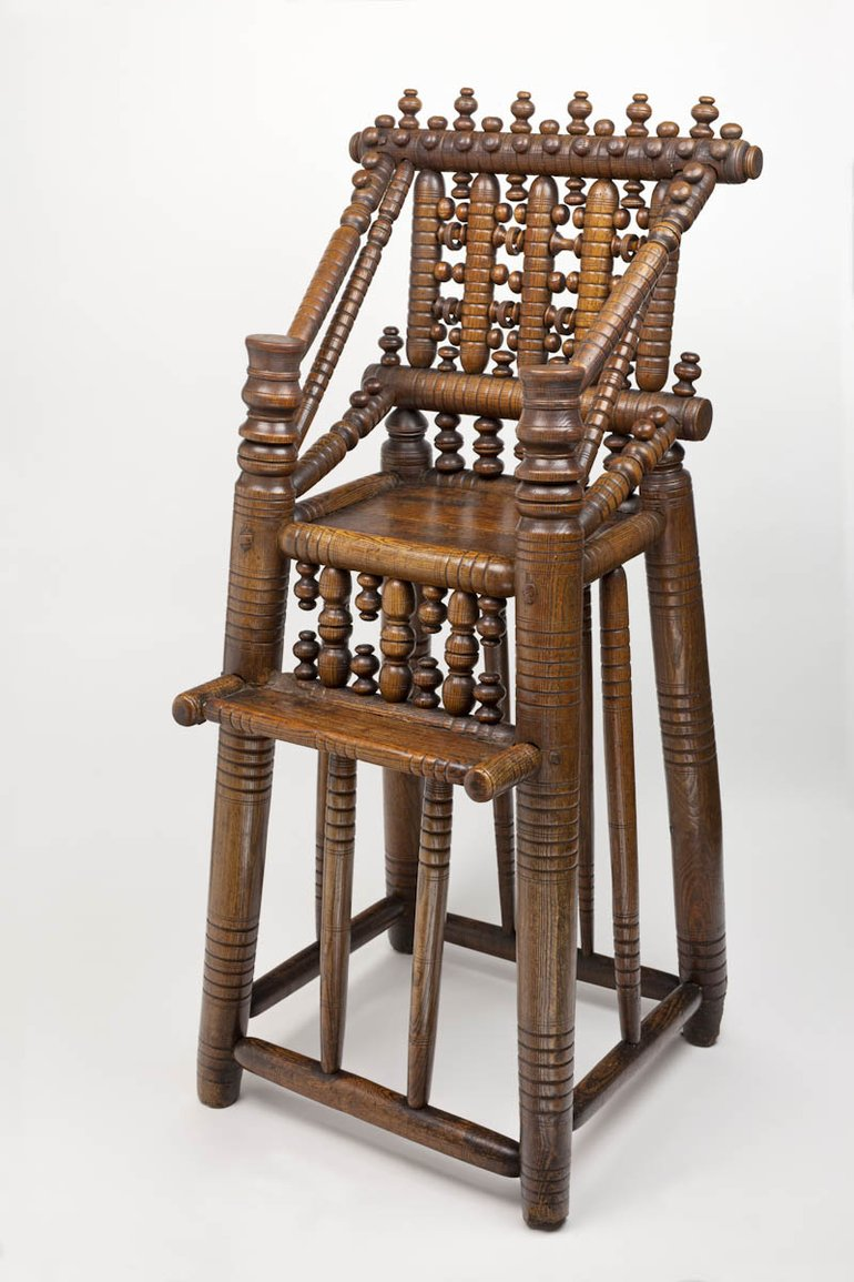 High chair (Hall's Croft) JPG