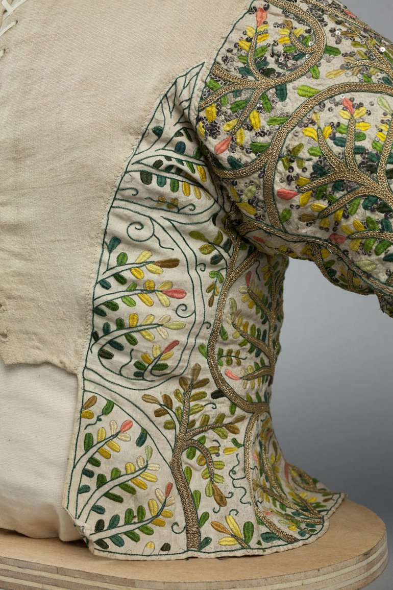 SBT 1993-35 Embroidered Bodice (detail)