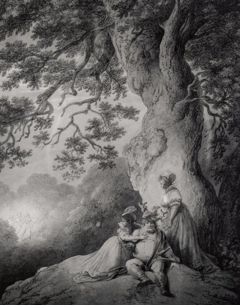 Merry Wives of Windsor, Robert Smirke, 1796