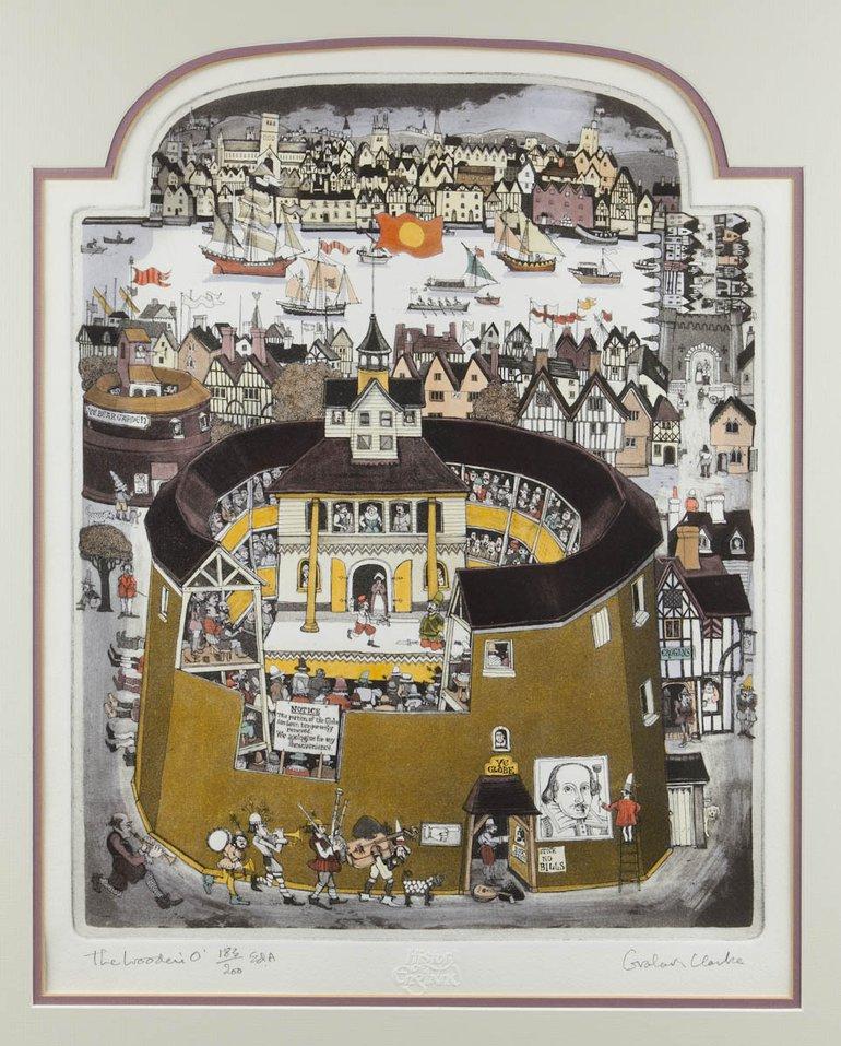 Globe Theatre by Graham Clarke