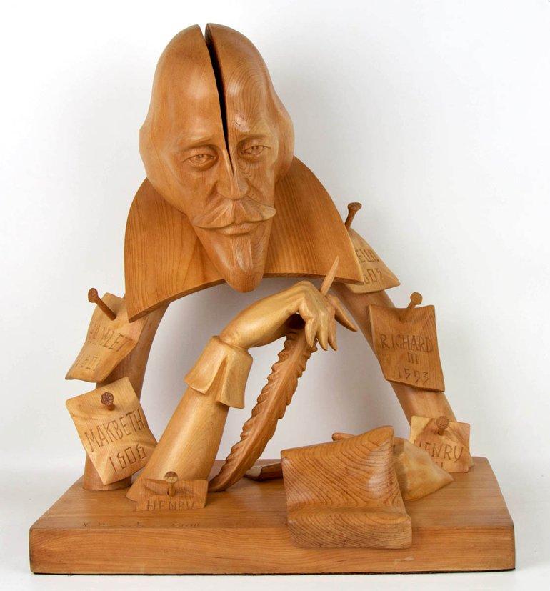 usov-sculpture-of-shakespeare