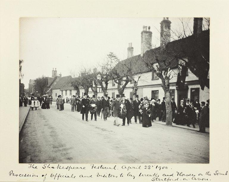 Benjamin Stone Festival Procession 1900