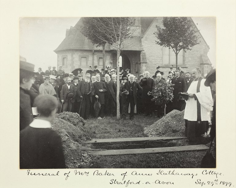Mary Baker's Funeral