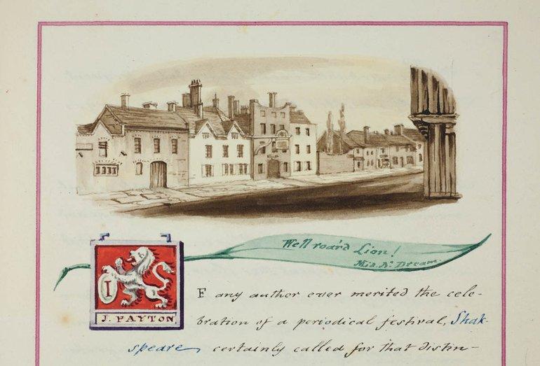 er1/82(saunders-papers-jubilee-vol-viii-1813-sbt-f-7-002) White Lion Inn