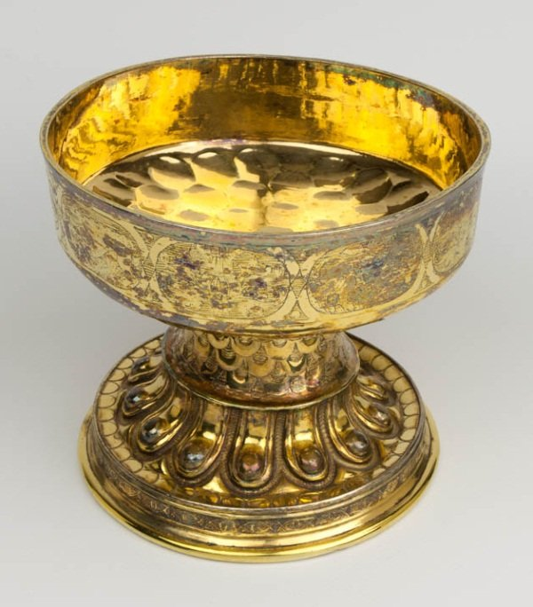 SBT L1995-1 Silver gilt drinking bowl c.1540