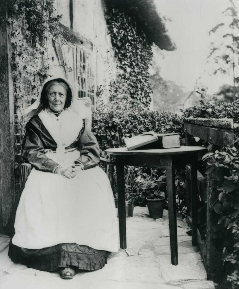 Mary Baker w/ Bible