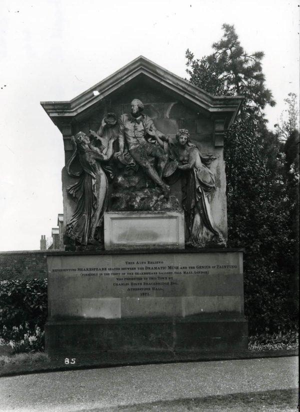 Shakespeare monument