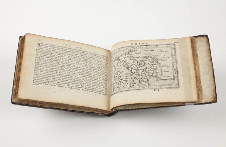 Ortelius, map of China (1603)