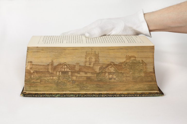 Campbell fore-edge painting