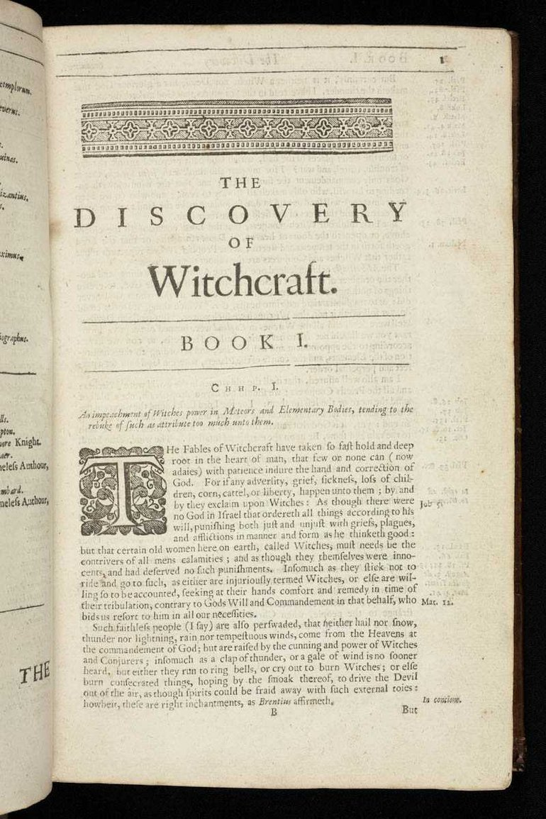 Discoverie of witchcraft chapter one