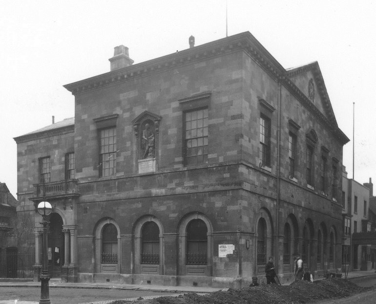 SC80/42 Stratford Town Hall, c.1910