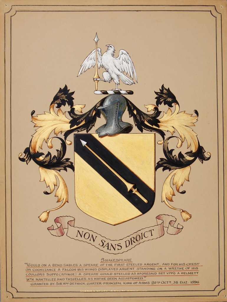 Shakespeare Family Crest