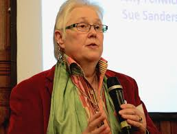 Sue Sanders - Co founder of LGBT+ History Month
